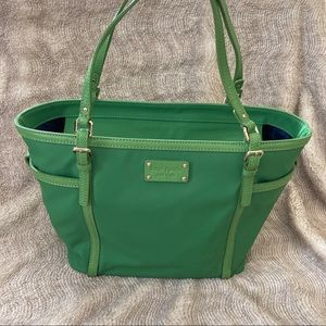 """NWT Kate Spade """"Clementine Union Square"""" Tote Lime"""